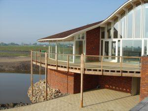 Nieuwbouw clubgebouw golfclub Liemeer