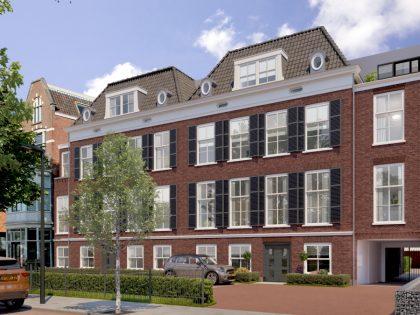 """Renovatie en nieuwbouw """"residentie Huygenshof"""" te Voorburg"""