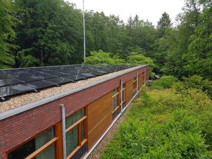 zonnepanelen op bestaand gebouw