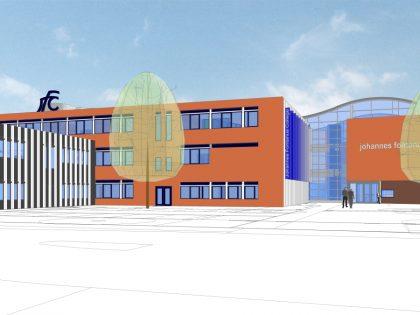 Renovatie en nieuwbouw Johannes Fontanus College te Barneveld