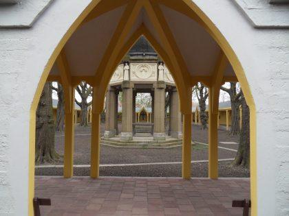 Restauratie processiegang Bedevaartskerk te Brielle