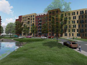 Starterswoningen Kanaalpark te Leiden