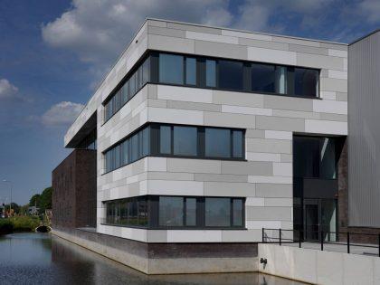 Nieuwbouw kantoor en bedrijfshallen Style CNC te Bunschoten