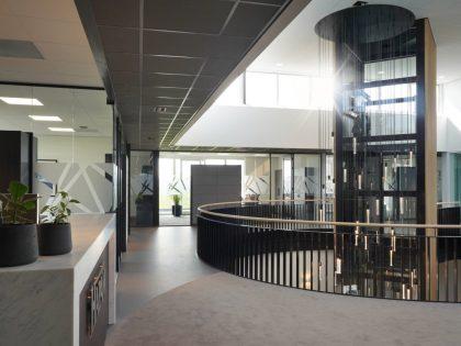 Nieuwbouw kantoor en bedrijfsruimte HAPAM te Bunschoten