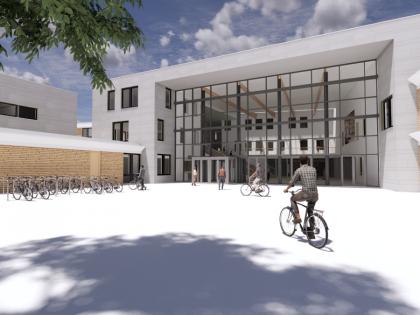 Renovatie en nieuwbouw Scala College te Alphen aan den Rijn