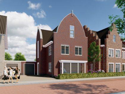Nieuwbouw woningen Rengerswetering te Bunschoten-Spakenburg