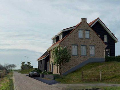 Nieuwbouw dijkwoning te Eemdijk