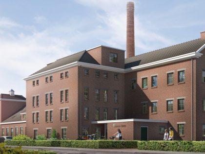 """Renovatie en Nieuwbouw """"de melkfabriek"""" te Bunschoten"""